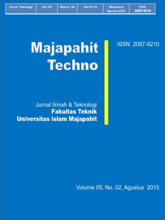 View Vol. 5 No. 2 (2015): Agustus